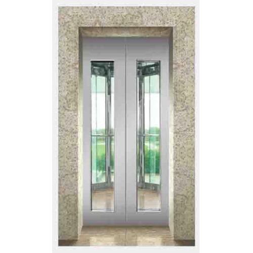 SS 304 Landing Glass Door