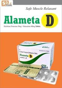 Metaxalone 400mg + Diclofenac Potassium 50mg