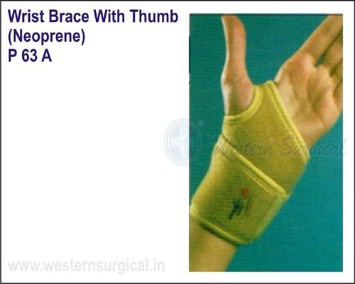 Wrist Brace With Thumb (Neoprene)