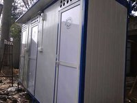 Three Seater Portable Toilet