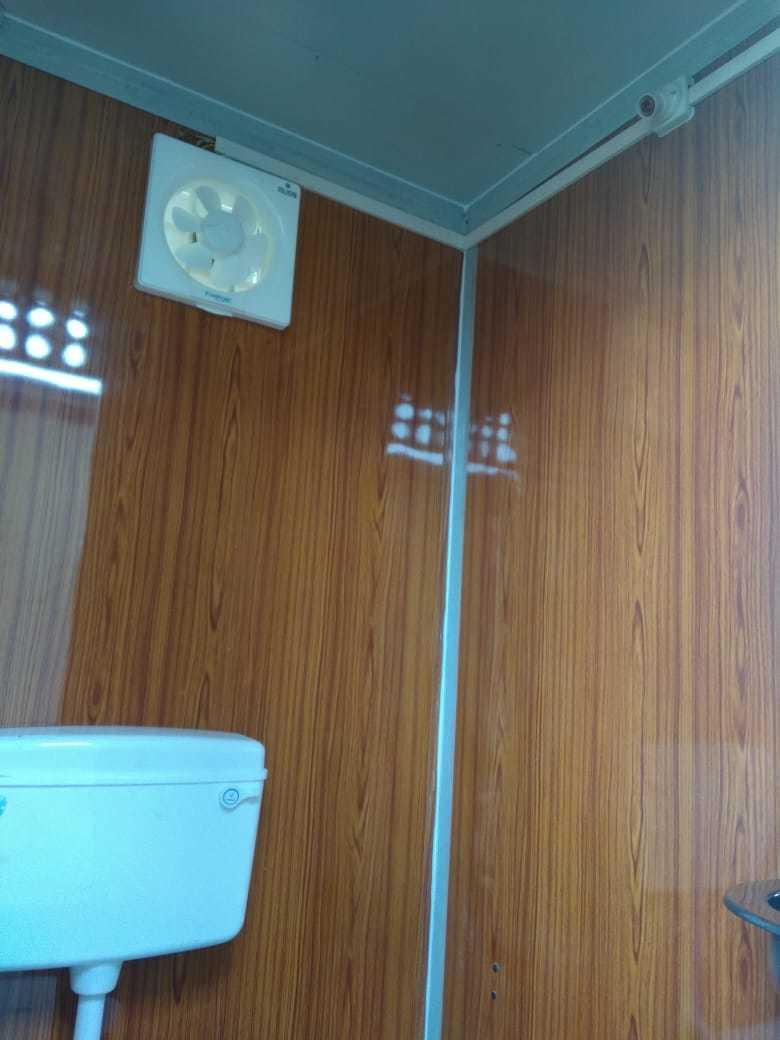 Three Seater Portable Toilet