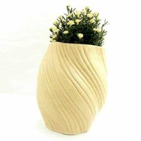 Rope shape planter
