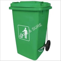 Commercial Trolley Plastic Dustbin