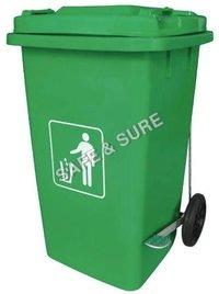Commercial Trolley Plastic Dustbin