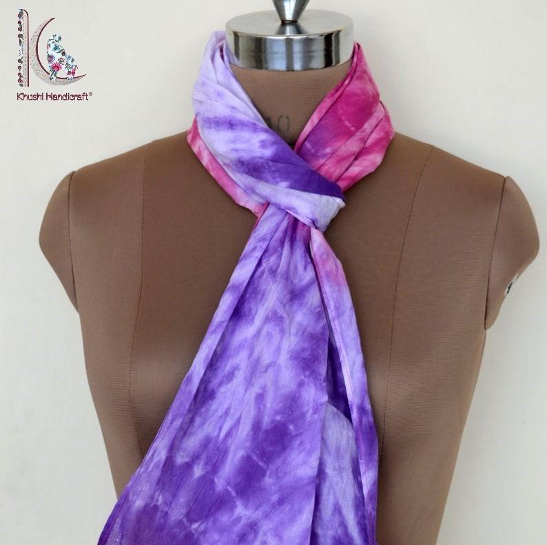 Tie Dye Cotton Stole