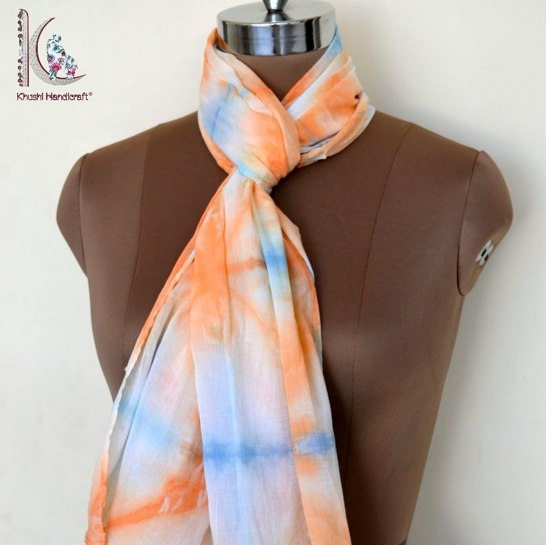 Tie Dye Printed Stole