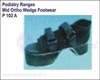 Podiatry Ranges Mid Ortho Wedge Footwear