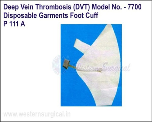 Deep Vein Thrombosis Disposable Garments Calf Cuff