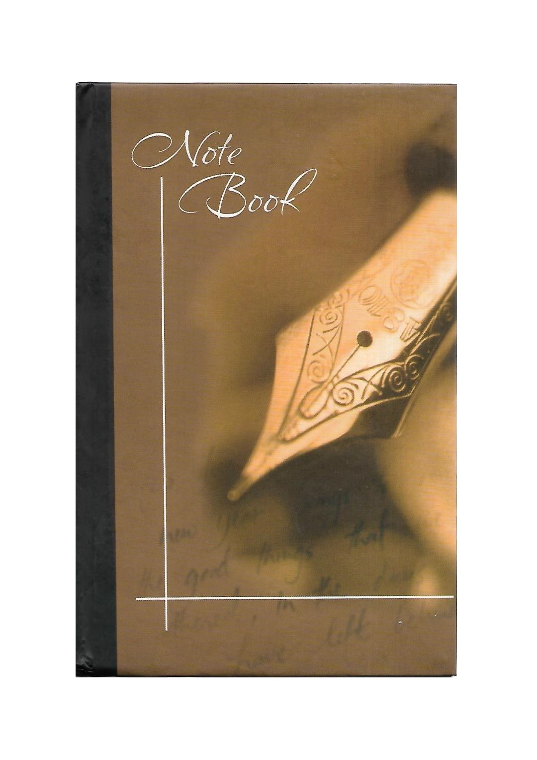 Chief Size Note Book, Hard Binding (128Pages & 224Pages)