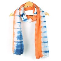 Multi Color Tie Dye Fashionable Stole