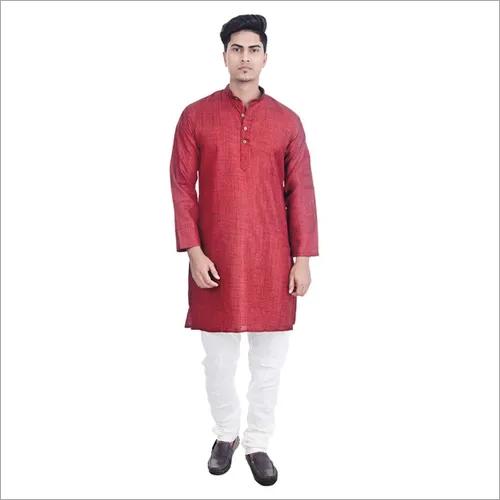 Lucknowi Mens Chikan Kurta