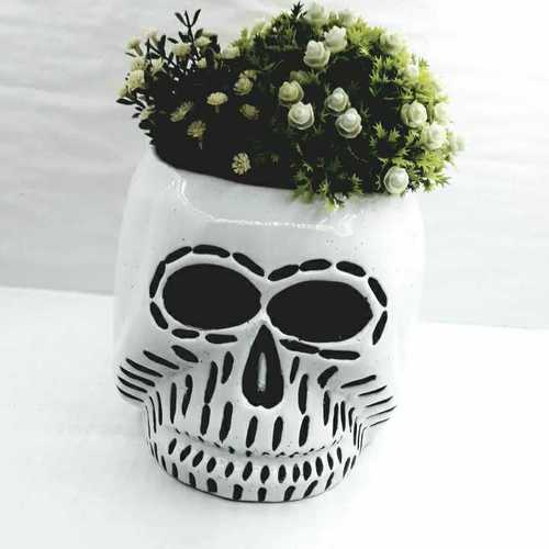 Ghost  shape  planter