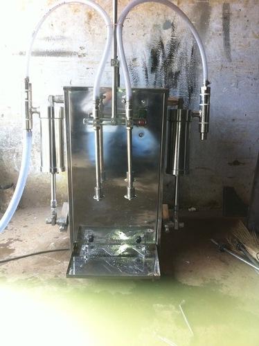 Hand Wash Filling Machine