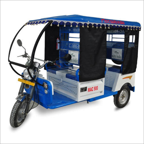 Comfortable Electric Rickshaw