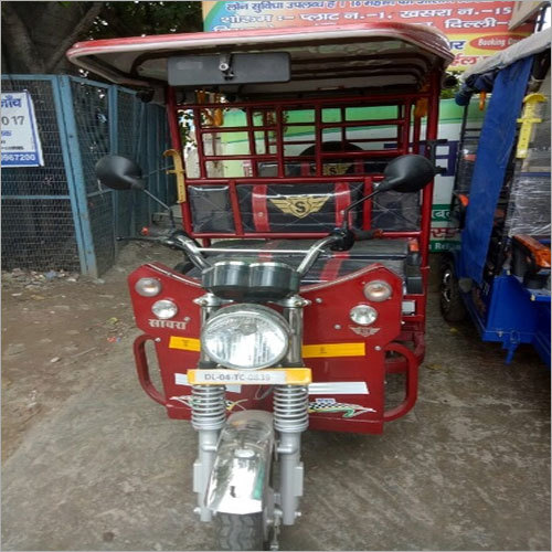 3 Wheeler Eco Friendly E Rickshaw