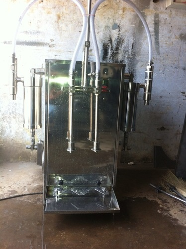 toilet cleaner filling machine