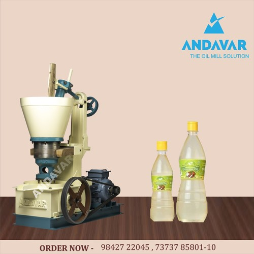 Semi-Automatic JUMBO MS Cold Press Oil Machine