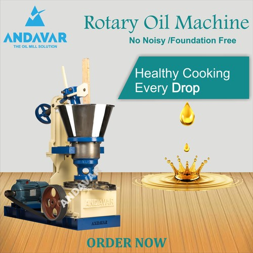 MAXI SS Rotary Oil Extraction Machine