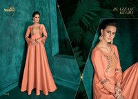 READYMADE PARTY WEAR LONG GOWN KURTI
