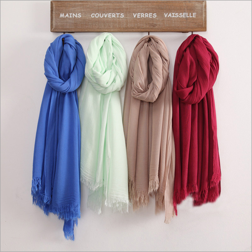 Plain Color Scarf