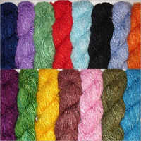 Dye Recycled Silk Yarn