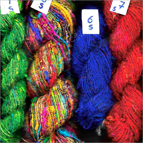 Dyed Silk Yarn