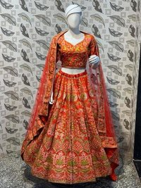 Ladies Designer Net Lehenga Choli