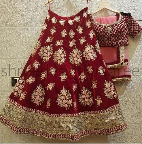 Heavy Stitched Lehenga Choli