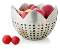Prince Fruit Bowl With Square Cutting