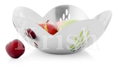 Opera Fruit Bowl With Raindrop Cutting