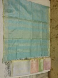 LINEN TISSUE SAREE