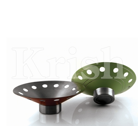 Colored Fruit Bowl With a Base Uniquer
