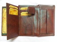 Brown Leather Note Case