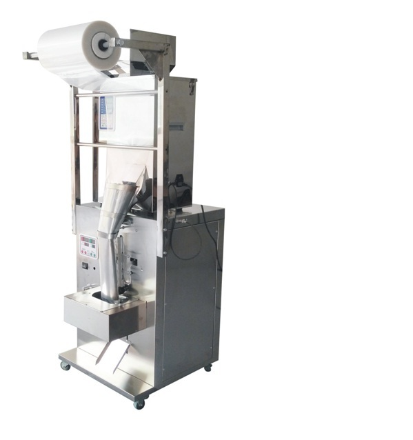 Sachet forming and sealing machine