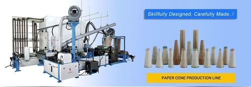 Fully Automatic Textile Paper Cone Making Machine