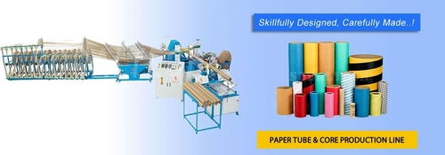 Spiral Paper Tube Core Making Machine