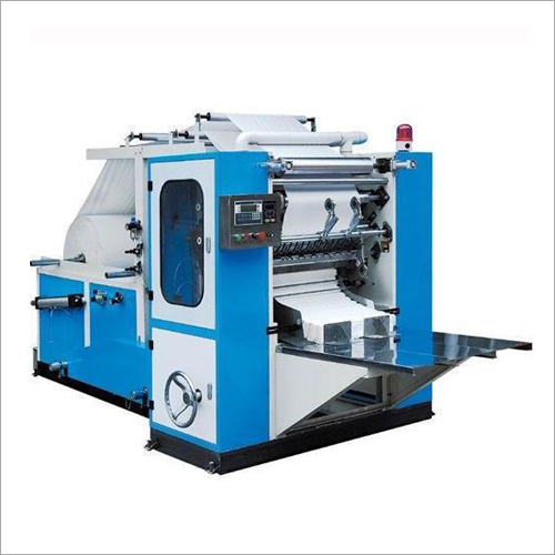 Automatic Box-Drawing Face Tissue Interfold Machine