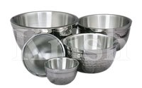 DW German Mixing Bowls- Hammered