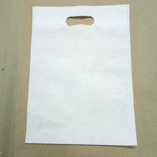 second white dcut bag