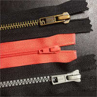 Concealed Zip With Heavy Puller