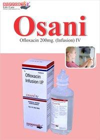 Ofloxacin 200mg iv