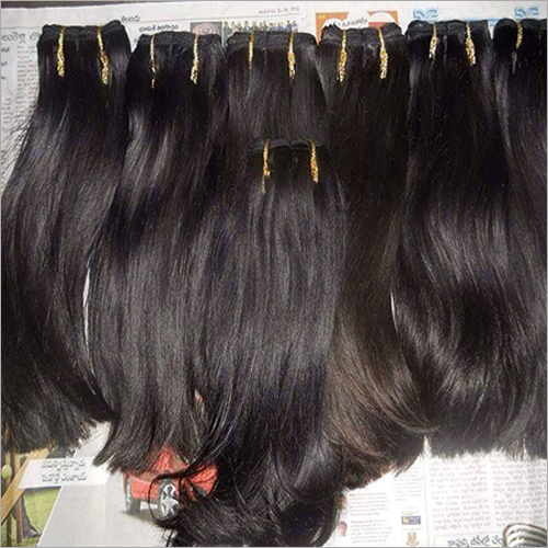 Machine Virgin Weft Hair