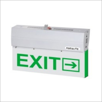 Green Exit LED Sign Board