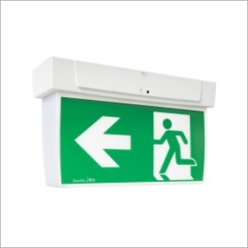 Ceiling Exit Sign Board