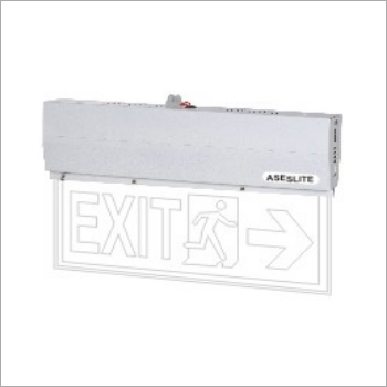 Exit Laser Type Sign Board