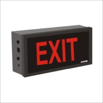 Wall Mounted Exit Sign Board