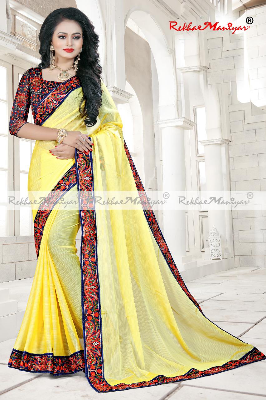 Silk Traditional Prints Banarasi Bordered Saree