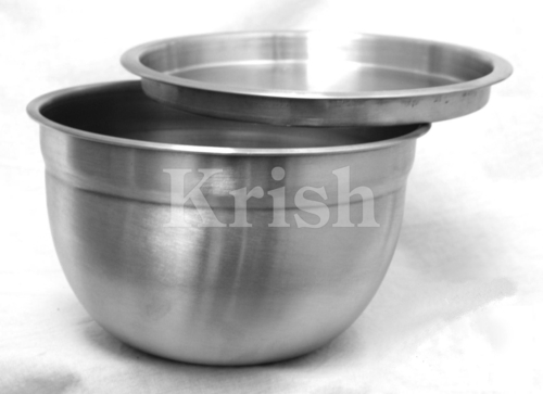 German Bowl Air Tight Steel Lid