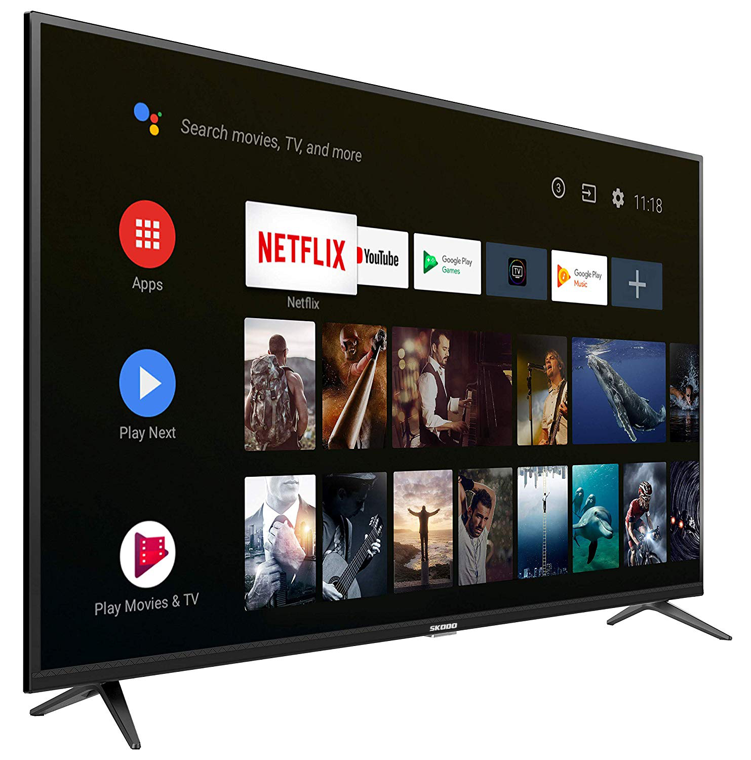 50inch SKODO Full HD Smart TV