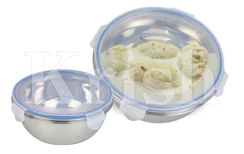 Deep Lid Bowl With Lock Cover